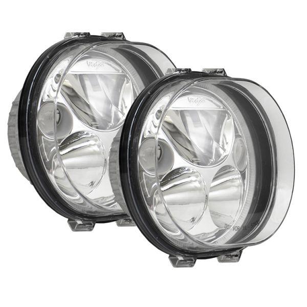 Набор светодиодных фар головного света Prolight Vortex XMC-575OD KIT полированный хром