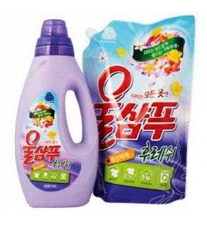 Корейское жидкое средство для стирки KeraSys Вул Шампу СВЕЖЕСТЬ в ассортименте