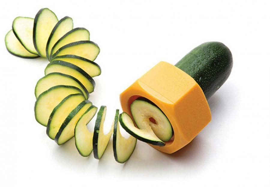 Спиральный слайсер для фигурной нарезки овощей
