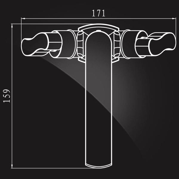 Elghansa New Wave Zeta 1907592 Смеситель для раковины
