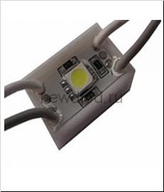 Светодиодный модуль SMD 5050/1LED   24*24*5 мм  IP65 yellow