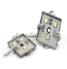 Светодиодный модуль SMD 5050/3LED  35*35*5 мм  IP65 warm white