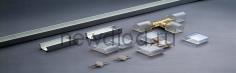 L-образный коннектор для неона