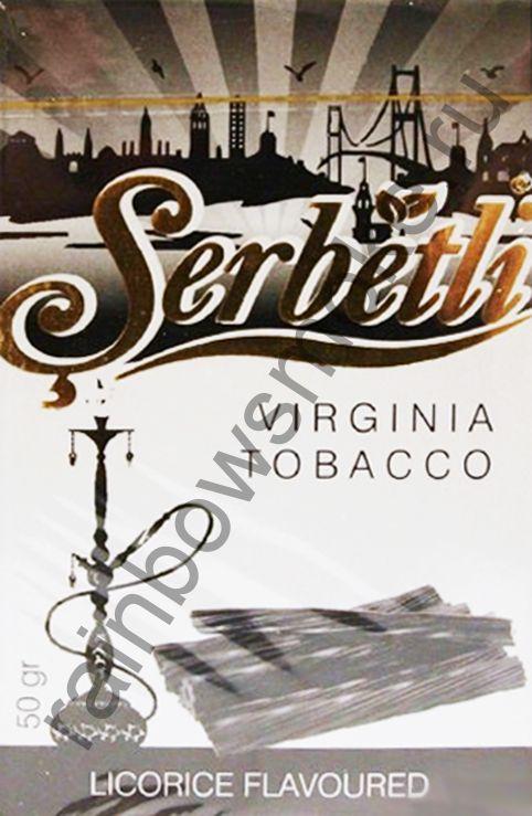 Serbetli 50 гр - Licorice (Лакрица)