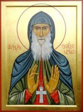 Икона Гавриил Ургебадзе (рукописная)