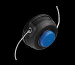 """Головка триммерная T25 3/8"""" R,  полуавтоматическая, для 125С, """"малая"""" кнопка нажатия, для травокосилок 25-55 куб.см"""