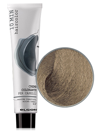 Elgon 10 MIN Перманентная крем-краска №7 Biondo блондин