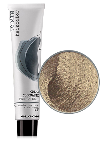 Elgon 10 MIN Перманентная крем-краска №8 Biondo Chiaro светлый блондин