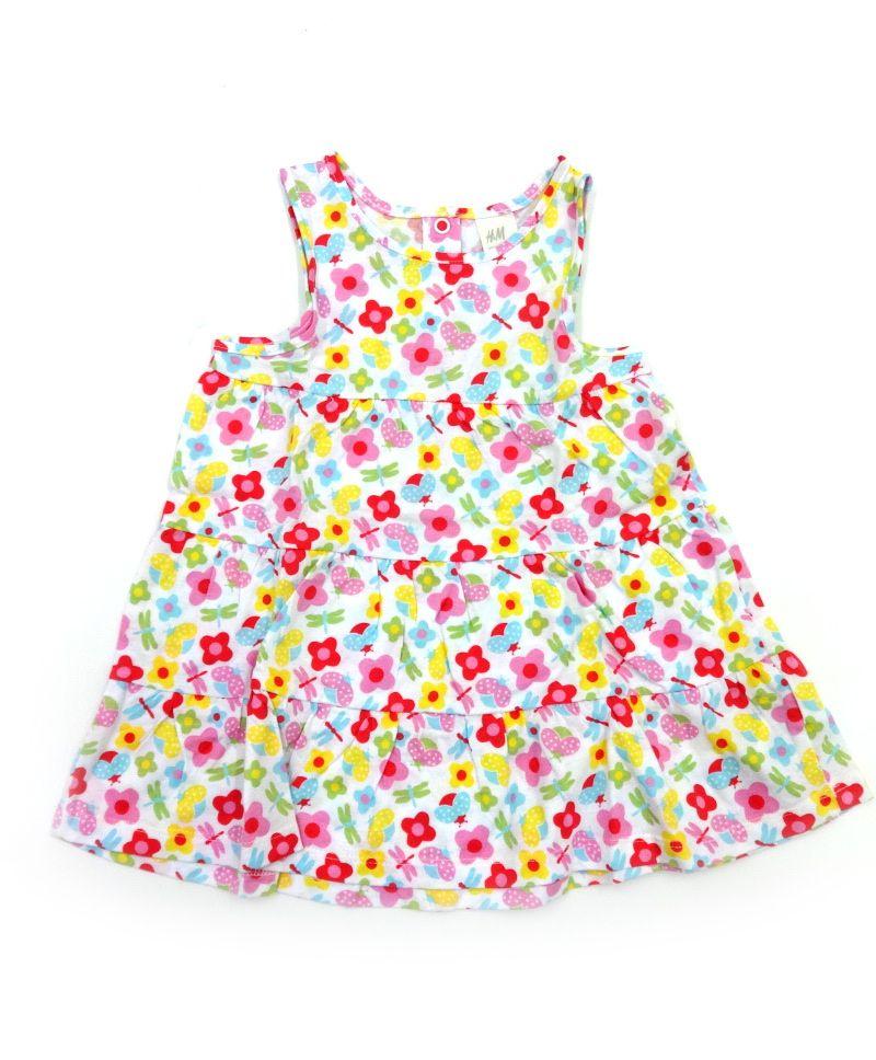 Летний сарафан H&M для девочки Цветочек