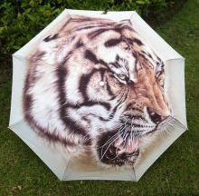 """Раскладной зонт с 3D принтом """"Тигр"""""""