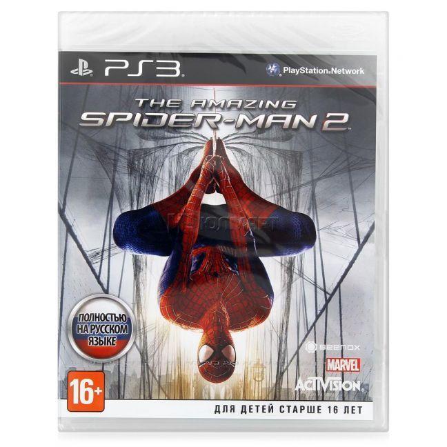 Игра Новый Человек-Паук 2 (The Amazing Spider-Man 2) (PS3)