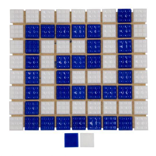 Фриз Греческий из стеклянной мозаики Aquaviva U-71