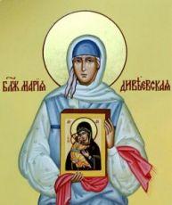Икона Мария Дивеевская (рукописная)