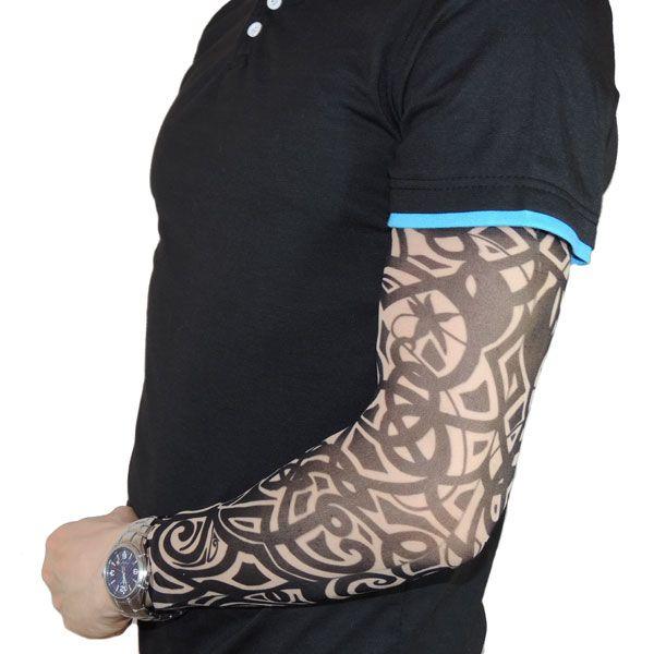 Тату рукав с кельтским узором
