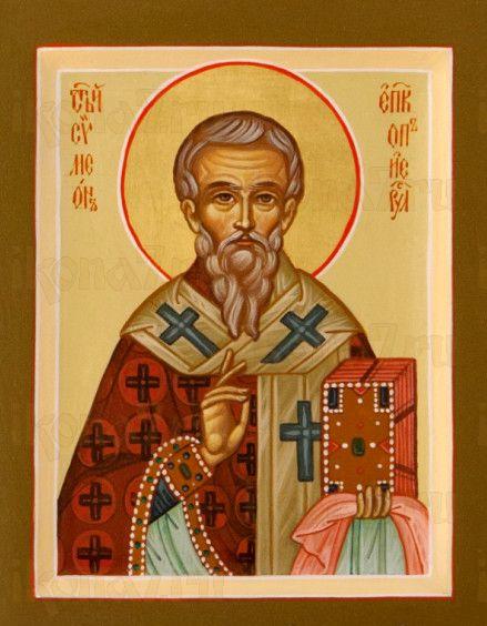 Симеон Иерусалимский (рукописная икона)