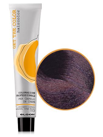 Elgon GET THE COLOR Крем-краска 5.7 светло каштановый фиолетовый