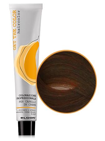 Elgon GET THE COLOR Крем-краска 6.4 MIX темный блонд медный