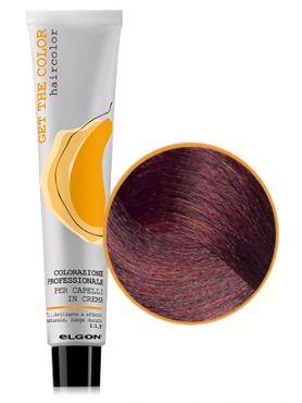 Elgon GET THE COLOR Крем-краска 6.5 темный блонд красный