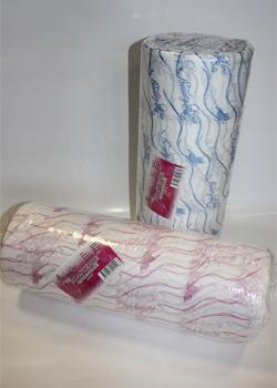 Полотенца одноразовые 45/90 - плотность 40; - 100 штук.   розовый/голубой