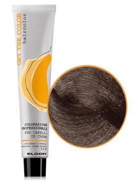 Elgon GET THE COLOR Крем-краска 7.8 блонд коричневый