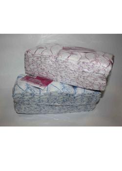 Салфетки одноразовые Размер - 30/30, Плотность - 50; --- 100 штук   розовый/голубой