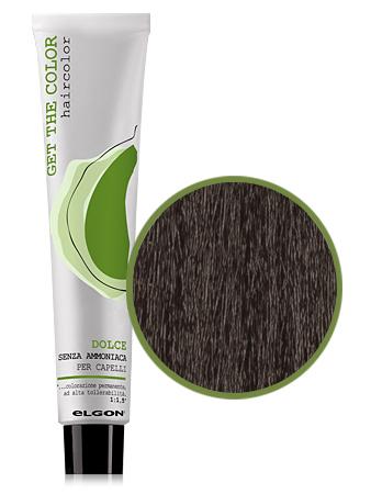 Elgon GET THE COLOR DOLCE Краска № 6.88 интенсивный коричневый темно-русый