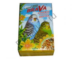 Корм Brava (Брава) Для Волнистых Попугаев 500г (1*14)