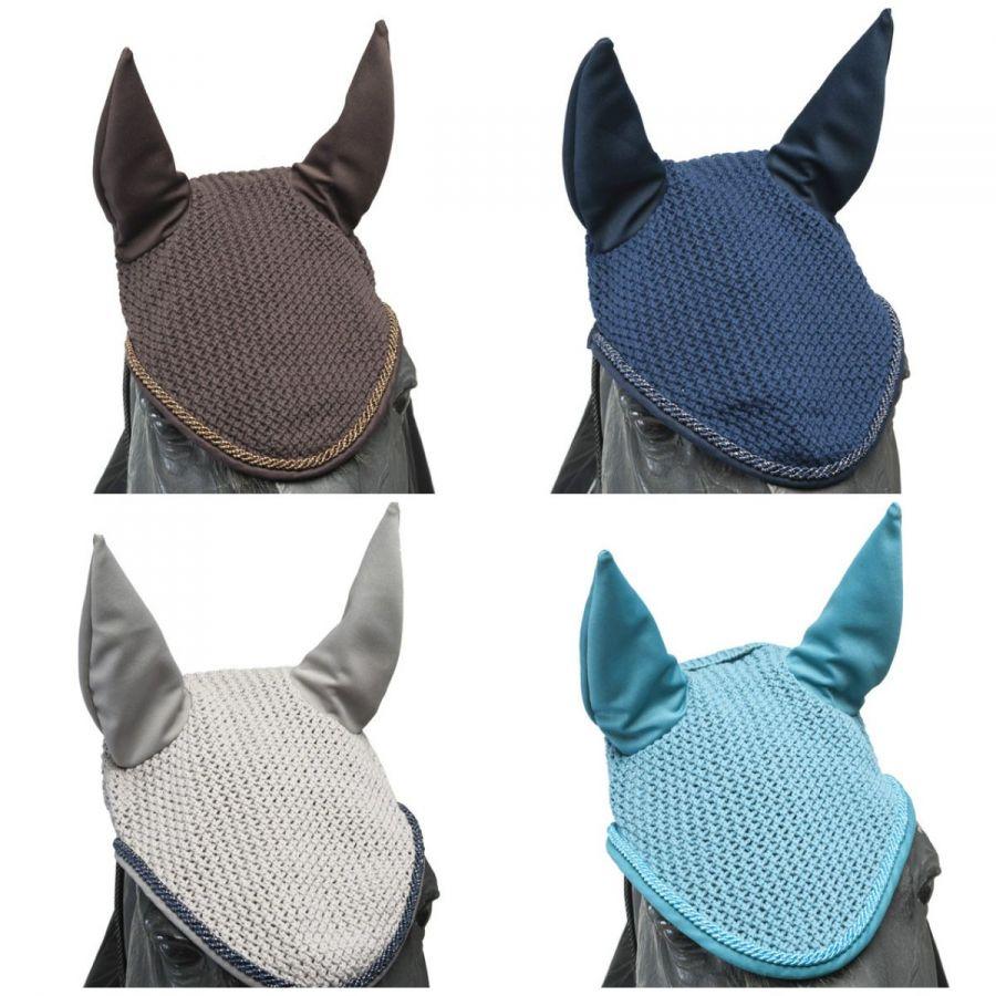 Ушки Horse Comfort хлопковые. С высокими ушами из синтетики.  Новый цвет