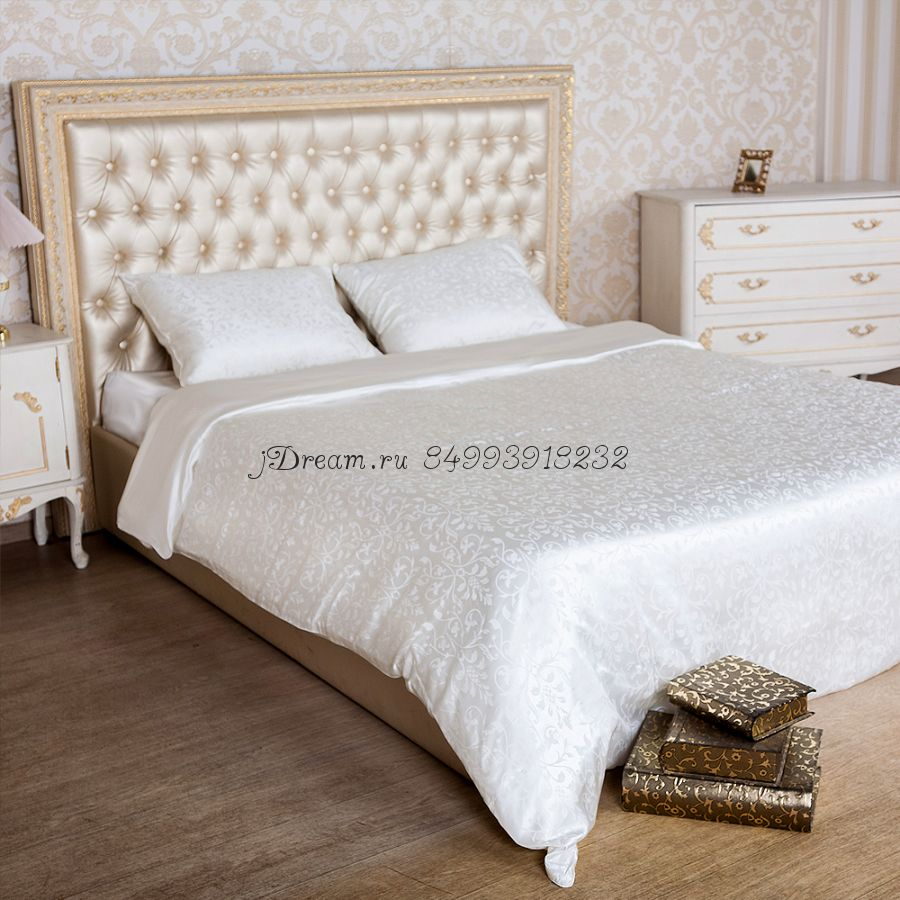 Шелковое постельное белье Ванильная Cказка
