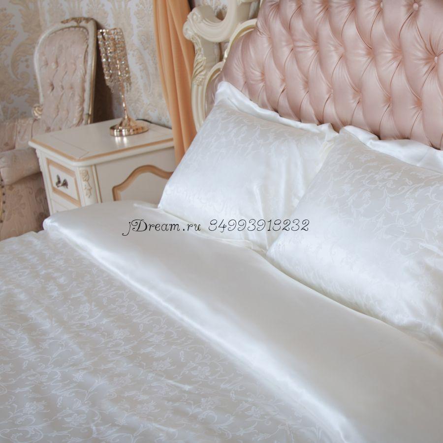 Шелковое постельное белье Душистый Жасмин