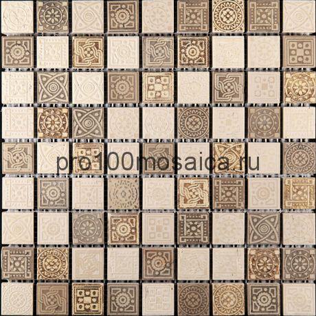 LGN-1. Мозаика 30*30*10, серия LEGEND,  размер, мм: 300*300 (Skalini)