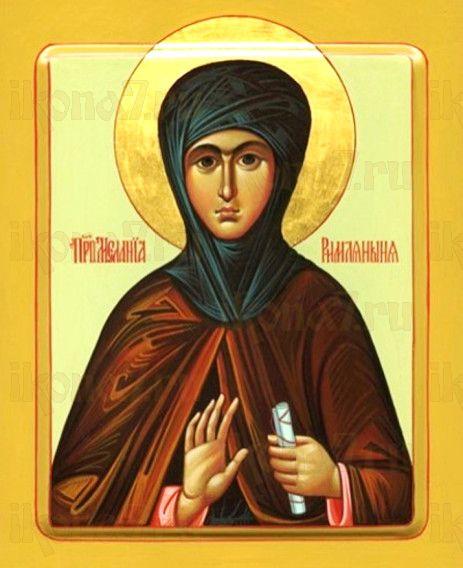 Икона Мелания Римляныня (рукописная)