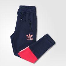 Детские спортивные штаны adidas Junior Moscow Pant's Fleece Girl's чёрные