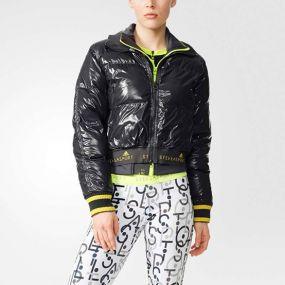 Женская куртка adidas Stella McCartney Sport Warm Jacket чёрная