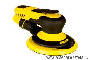 Шлифовальная пневматическая машинка для профессионального шлифования MIRKA PROS 625CV 150 мм орбита 2,5 мм