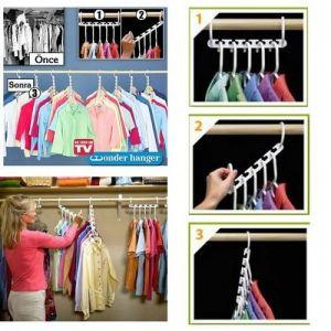 Вешалка для одежды Wonder Hanger 8 штук