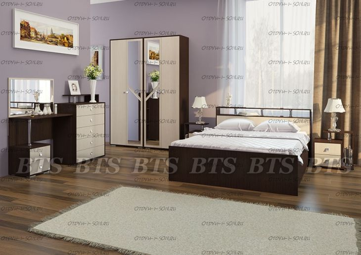 Спальня Саломея BTS