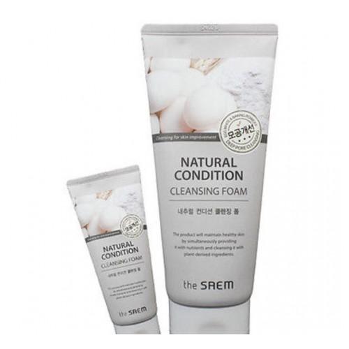 SAEM Пенка-скраб для лица Natural Condition Scrub Foam [Deep pore cleansing]