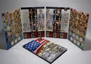 Набор Президенты США 38шт в капсульном альбоме