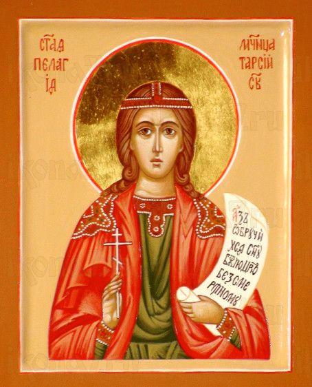 Икона Пелагея Тарсийская (рукописная)