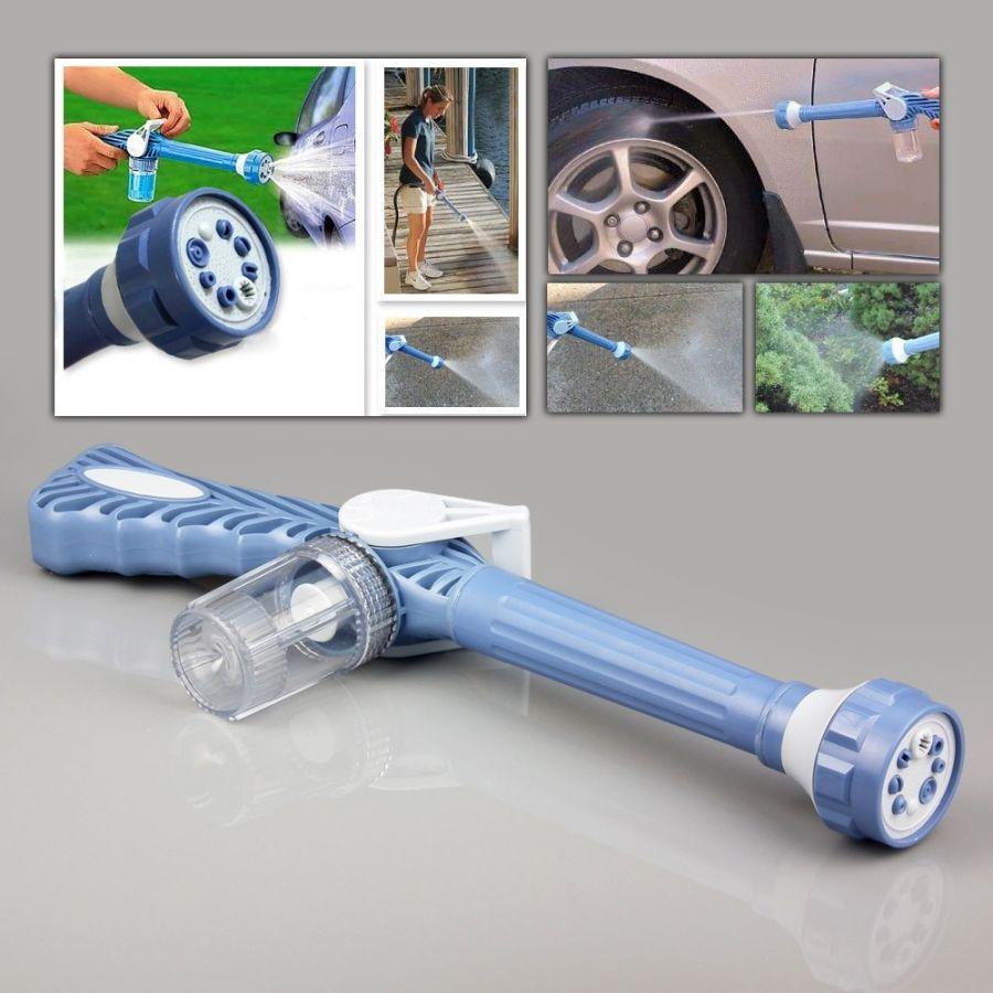 Насадка-распылитель на шланг с бочком для шампуня Ez jet water Cannon