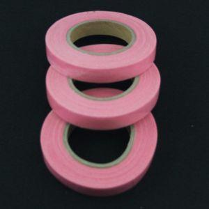Тейп-лента 12 мм, цвет розовый (1 упаковка = 5 шт)