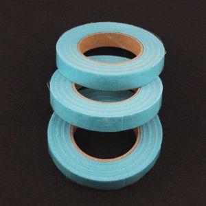 Тейп-лента 12 мм, цвет голубой (1 упаковка = 5 шт)