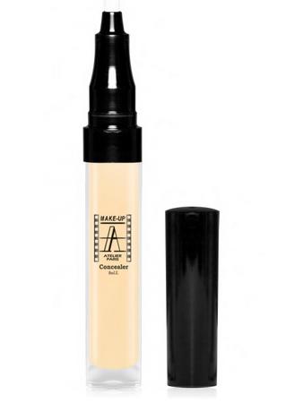 Make-Up Atelier Paris Anti-aging Fluid Concealer Gilded ACA1Y Pale yellow Корректор-флюид антивозрастной A1Y бледно-золотистый