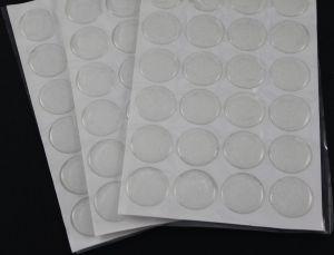 `Прозрачный слой с блестками, эпоксидная смола, диаметр 25 мм