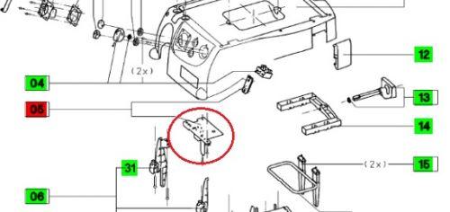 Электроника для пылесоса Festool CT 33 E 230 V