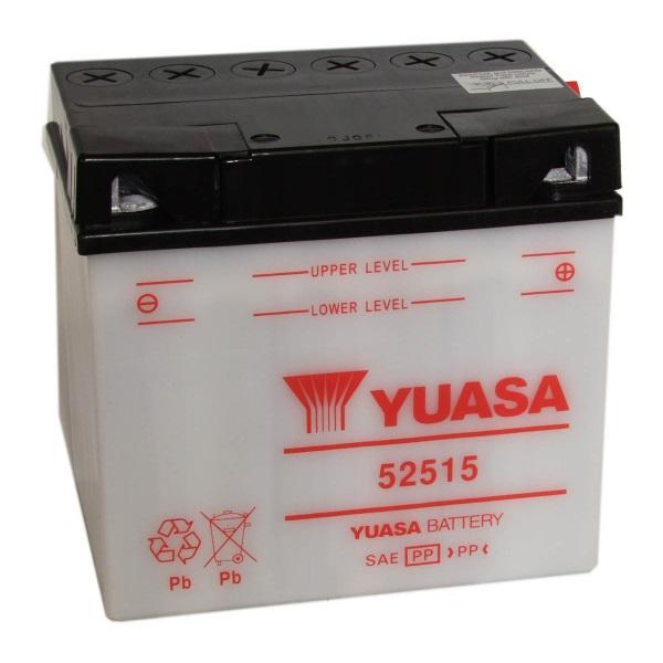 Мото аккумулятор АКБ YUASA (Юаса) 52515 BMW 25Ач о.п.