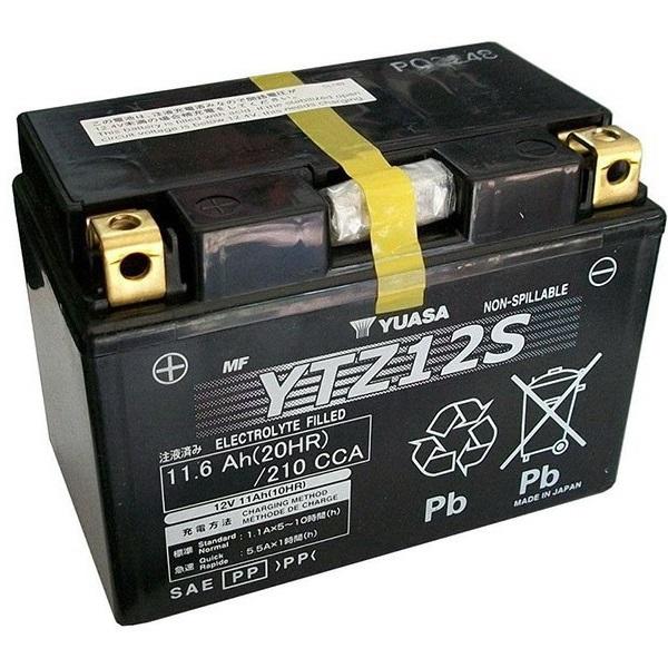 Мото аккумулятор АКБ YUASA (Юаса) TTZ12S YTZ12S 11Ач п.п.