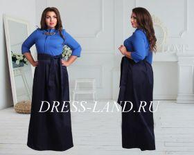 Платье в пол Грация-3