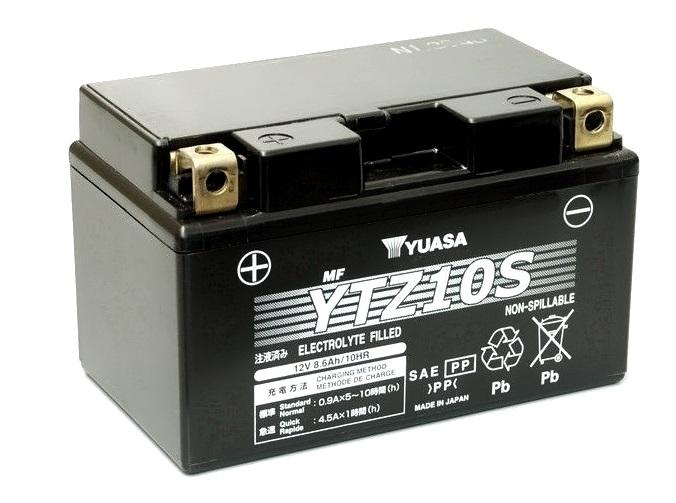 Мото аккумулятор АКБ YUASA (Юаса) YTZ10S 8,6Ач п.п.